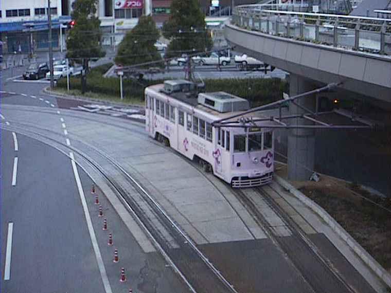 豊橋駅の路面電車