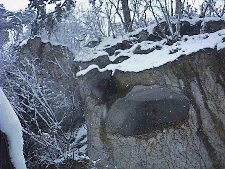 山寺グラフィティのほら穴